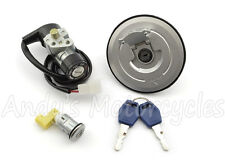 Ignition Switch, 94mm Type Fuel Cap & Seat Lock Set Kit for Honda CBR125 CBR 125