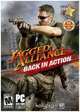 Jagged Alliance: Back in Action (PC, 2012) Strategy Army Shooter Mercenary's NEW