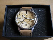 Vintage aviation Montre Flieger Quartz Horloge Pilotenuhr Pilot Watch US ARMY Wehrmacht