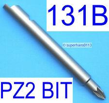 More details for new 131b pozi 2 stanley yankee screwdriver pz2 5812 bit no 2 pozidrive 131a 131