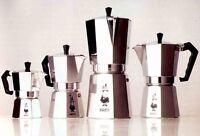 BIALETTI coffee maker moka express CHOOSE: 1 2 3 4 6 9 12 18 cups original ITALY