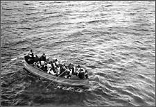 Photo: Titanic's Collapsible Lifeboat D Wide Field View, April 15, 1912