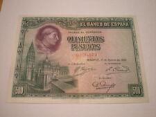 SPAIN 500 PTAS 1928. XF CONDITION. LOW START. SCARCE. 1ñz-