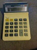 Canon KS-80 1987 Solar Electric Calculator Vintage VTG