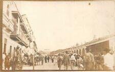 RPPC MEXICO MEXICAN BORDER WAR CONFLICT MILITARY REAL PHOTO POSTCARD (c. 1916)