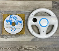 Mario Kart (Nintendo Wii, 2012) Game with Wii Wheel Tested and Works Great