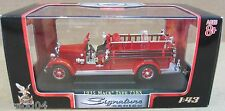 1935 Mack Type 75BX Hanover Fire Department No. 1 Unit 133 Red Fire Truck 1:43