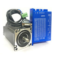 CNC Part NEMA23 57mm 3NM DSP Closed Loop Stepper Motor Drive Kit 4A 20~50VDC 3PH