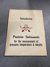 Vintage Lot Of Marshalltown Precision Instruments Pressure Temp Density Posters