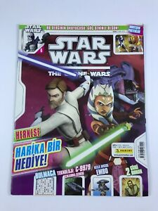 STAR WARS THE CLONE WARS #6 Turkish Comic Magazine 2010s OBI-WAN KENOBI Rare