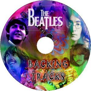 THE BEATLES GUITAR BACKING TRACKS CD GREATEST HITS BEST OF LENNON MCCARTNEY