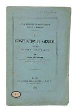 LONGFELLOW, Construction du vaisseau — EO traduction — Envoi