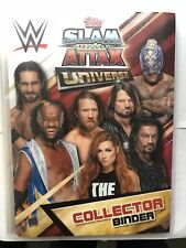 Topps WWE Slam Attax Universe,Complete Set 349 Cards, Binder