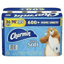 Charmin Ultra Soft Toilet Paper 208 sheets / roll 36 Super Rolls