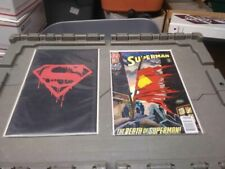 RX5012001 DC COMICS BOOK LOT OF 49 BOOKS DEATH OF SUPER SUPERMAN FUNERAL FOR A F