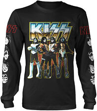 KISS Love Gun Chrome LONG SLEEVE T-SHIRT OFFICIAL MERCHANDISE