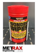 Wonder Wipes Holder - Hand Towel. Ideal for Garage workshop mechanic garden shed