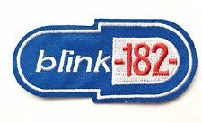 Wholesale 10 x Blink-182 Punk Rock Band Embroidered Iron On Sew On Patches