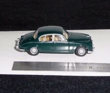 JAGUAR MKII BRITISH RACING GREEN BY WIKING  1:87 SCALE