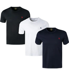 RALPH LAUREN  T-Shirt, Custom Slim Fit Rundhals, Baumwolle S-XL