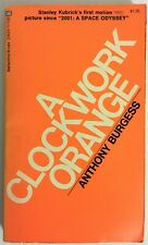 A Clockwork Orange 12th Printing 1972 by Anthony Burgess Ultra-rare Book Cover