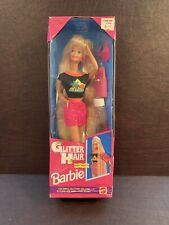 Barbie Glitter Hair Barbie Blond #10965 Factory Sealed