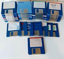 More details for massive commodore amiga 102 disc bundle + 6 retail games, job lot, floppy disks