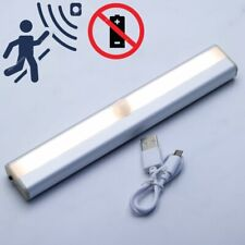 10 LED Motion Sensor Lights Wireless Night Light REC-Battery Cabinet Stair Lamp