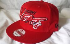 MIAMI HEAT New Era 9FIFTY HWC snapback hat (100% cotton) RARE RED CLASSICS CAP!