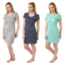 Women's Polka Nightdress, Soft Touch Spots Nightie Night Dress, Size 8-22, BH72