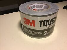 """New listing 3M Tough Gray Duct Tape 1.88"""" wide x 60 yards # 2960-2Pk"""