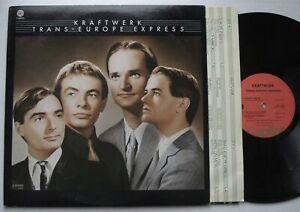 KRAFTWERK Trans Europe Express VG+ CAPITOL SW-11603 Original Krautrock LP inner