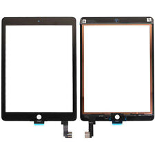 "VETRO+TOUCH SCREEN NERO APPLE IPAD AIR 2 (6) 9,7"" 2018 per DISPLAY A1566 A1567"