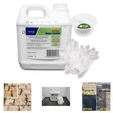 Commercial Weed Killer Strongest Glyphosate Weedkiller Home Garden + Glove/Pot