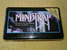 New Mind Trap Game 10th Anniversary Tin 2000 Pressman Toys New Sealed