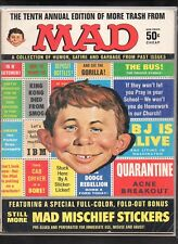MORE TRASH FROM MAD #10 G  (NO INSERT) 1969 EC