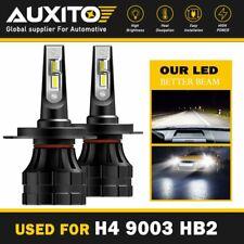 AUXITO H4 9003 HB2 CSP LED Headlight Kit Hi Lo Beam Bulb 20000LM 6000K HID White