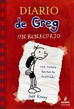 El Diario de Greg, un Renacuajo by Jeff Kinney (2008, Paperback)
