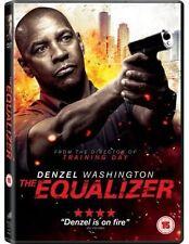 The Equalizer DVD Denzel Washington Rating 15 Region 2 Postage