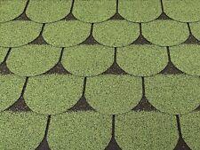 Dachschindeln 9 m? Biberschindeln Grün (3 Pakete) Schindeln Dachpappe Biber