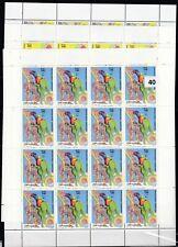 KZ 16X SOMALIA 1999 - MNH - FLORA - BIRDS - PARROTS - WHOLESALE