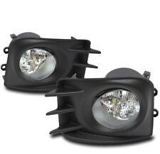 2011 2012 2013 SCION TC BUMPER LED FOG LIGHT LAMP CHROME W/WIRING HARNESS+SWITCH