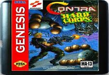 Contra Hard Corps (1994) 16 Bit Game Card For Sega Genesis / Mega Drive System