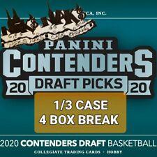 LOS ANGELES LAKERS 2020-21 CONTENDERS DRAFT BASKETBALL 1/3 CASE 4 BOX BREAK 24