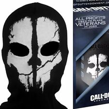 ADULT LOGAN GHOST FULL FACE MASK SKI HOOD+ACTIVISION CALL OF DUTY DOG TAGS