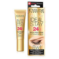 Eveline All Day Ideal Stay 24hr Eyeshadow Eye Shadow Base Primer, 8 in 1, 12ml