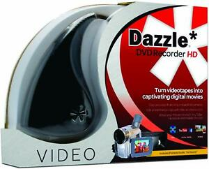 NEW Corel Pinnacle Dazzle DVD Recorder HD for PC - VCR, VHS to DVD Converter