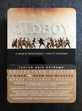 Oldboy Tartan Asia Extreme Ultimate Collector's Edition 3 DVD Set Tin Free Ship!
