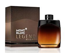 Mont Blanc Legend Night 3.3 / 3.4 Oz EDP Spray NIB Sealed Perfume For Men