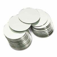 """50Pcs Craft Round Mirror Mosaic Tiles 4"""" for DIY Projects Crafts Decorations"""